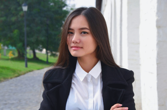 Asian looking Russian from Kazahkstan