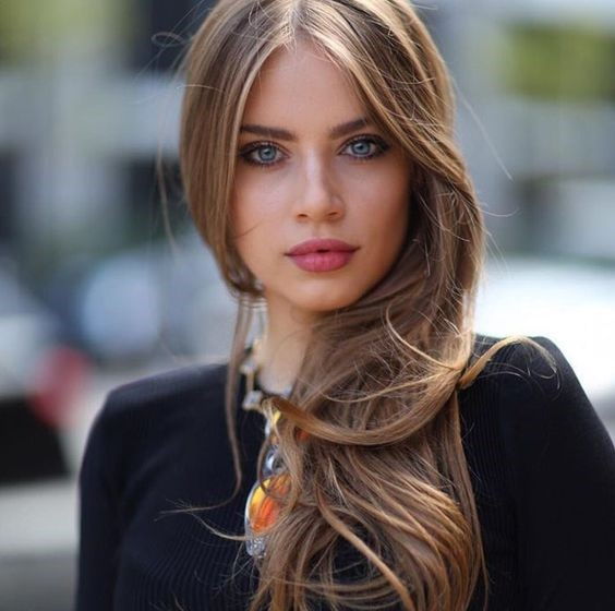 Natural beauty is the secret of any Russian woman