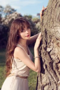 Russian beautiful girl always surprises, attracts and captivates