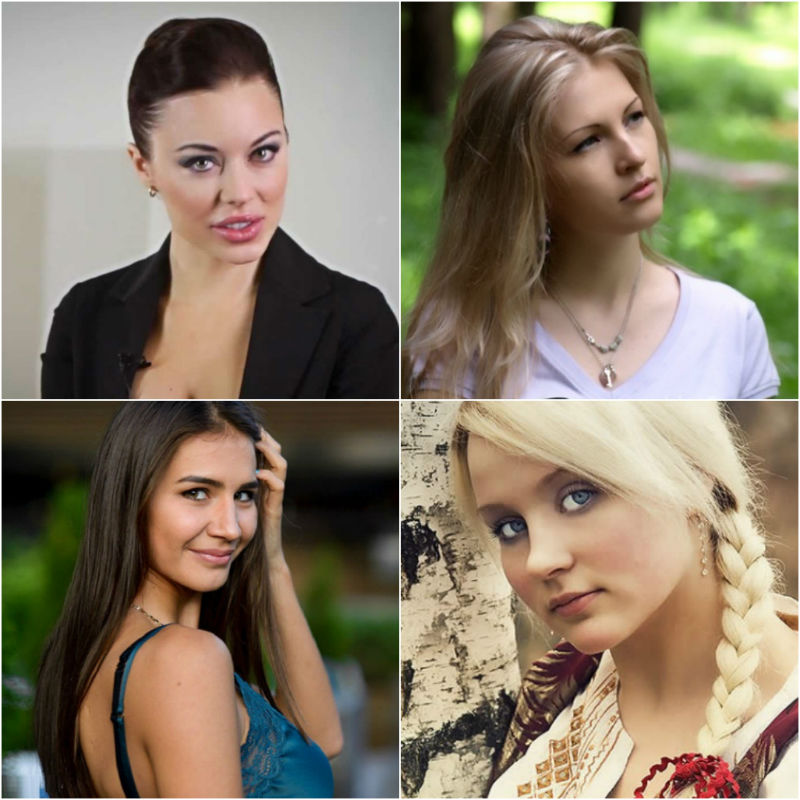 Beautiful brides from Russia